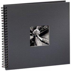 Album 34x32/50 Fine Art ciemny szary czarne strony - Hama