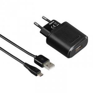 Ładowarka sieciowaauto-detect tablet/pc,micro usb, 5v/2.4a, czarna