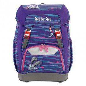 Plecak szkolny Grade Shiny Dolphins - Step by Step
