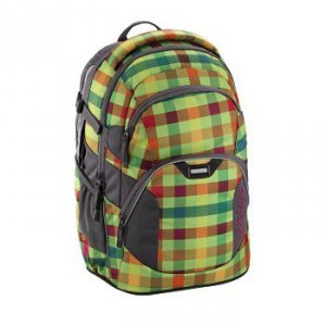 Plecak szkolny JobJobber 2 Hip To Be Square Green - Coocazoo