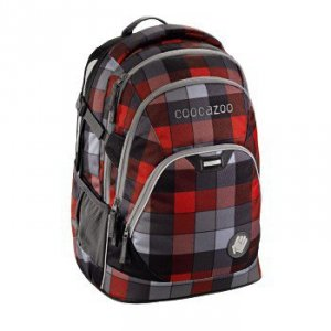 Plecak szkolny Evverclevver 2 Red District - Coocazoo