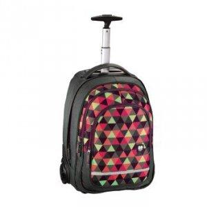 Plecak szkolny na kółkach Bolton Happy Triangle - All Out Hama