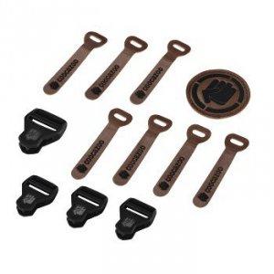 Zestaw Elementów Wymiennych Leather Black Melange - Coocazoo