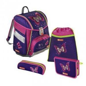 Zestaw szkolny Touch 2 Shiiny Butterfly - Step by Step