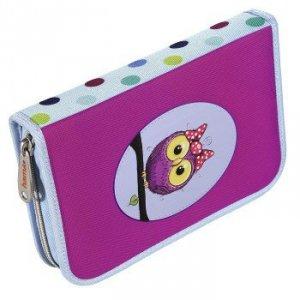 Piórnik szkolny Sweet Owl z wyposażeniem - Hama