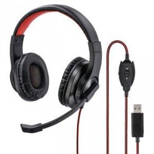 Słuchawki komputerowe HS-USB400 - Hama