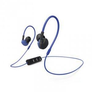 Słuchawki douszne Bluetooth Run BT niebiesko/czarne - Hama