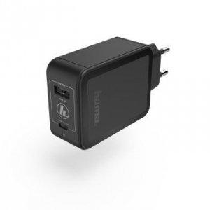 Ładowarka sieciowa qualcomm® quick charge™/ power delivery (pd), +usb-a