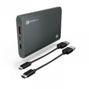 Power pack premium alu 12000 mah, antracyt qc 3.0