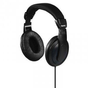 Słuchawki nauszne Basic4tv czarne - Hama