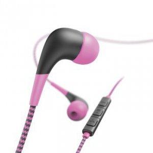 Słuchawki douszne Neon różowe - Hama
