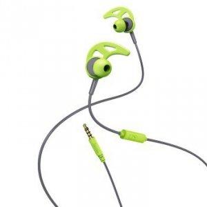 Słuchawki douszne Action zielono-szare - Hama