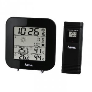 Stacja pogody EWS-200 czarna - Hama