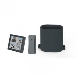 Rainy weather station with wirele