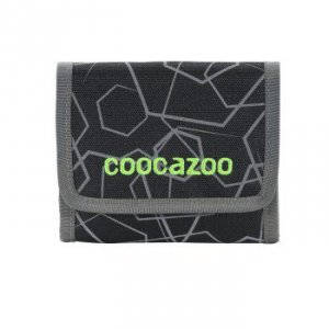 Portfel dziecięcy CashDash 2 Laserreflect Solar-Green - Coocazoo