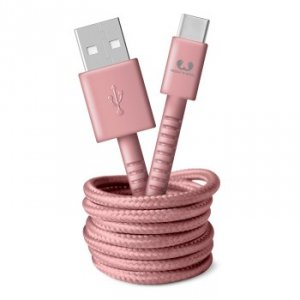 Kabel USB-C 1.5m Dusty Pink - Fresh'n Rebel