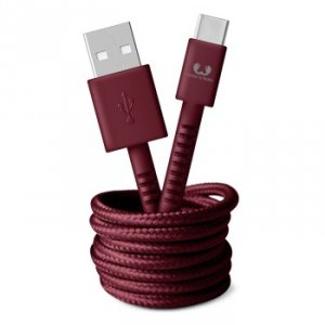Kabel USB-C 1.5m Ruby Red - Fresh'n Rebel