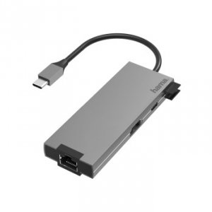 Usb-c multiport, 5 ports, hdmi+lan