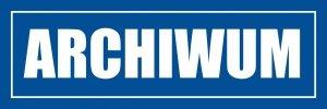 Znak informacyjny - Archiwum