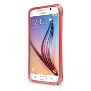 ITSKINS Spectrum Etui Samsung Galaxy S6 czerwone