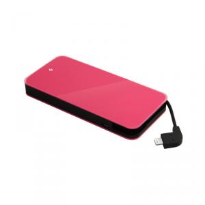 TTEC Easy Charge Slim Powerbank MFi 6000mAh USB różowy (2BB110P)
