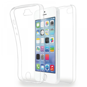 AZURI TPU360 Etui iPhone 5/5S/SE transparentne