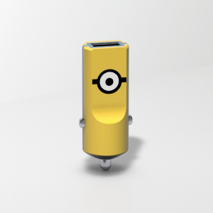 TRIBE Minionki Ładowarka samochodowa Buddy 1 USB Carl