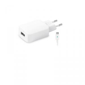 TTEC SpeedCharger Ładowarka sieciowa  USB  2.1A kabel USB-C