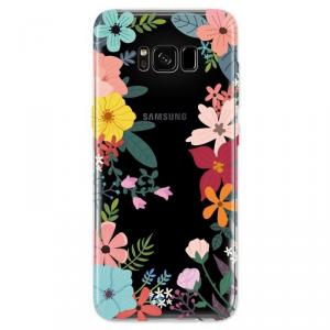 4OK Cover4U Etui Samsung Galaxy S8 Plus motyw kwiaty