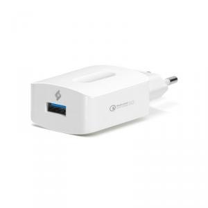 TTEC Ładowarka Sieciowa SpeedCharger QC 3.0 biała