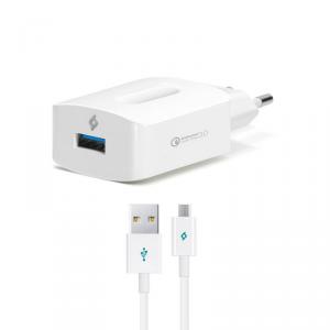TTEC Ładowarka Sieciowa SpeedCharger 3.0 + kabel micro USB