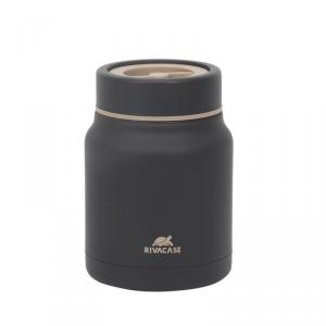 Słoik termiczny na żywność Vintgar 500 ml czarny - Rivacase