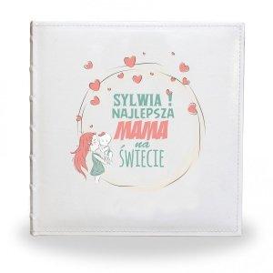 Album 25x25/30 Najlepsza Mama z Twoim napisem - Studioix.pl