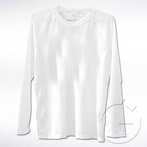 Biała koszulka z długim rękawem Lord. Rozmiar: XXL