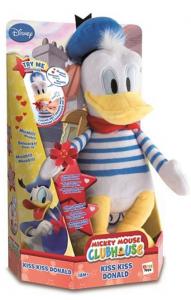 Kaczor Donald, zabawka interaktywna, Donald Kiss Kiss + gratis