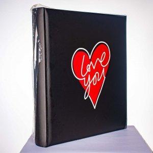 Album 10x15/500 Love czarny - Poldom