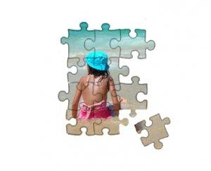 Puzzle 19x28 cm 96 elementów z ulubionym zdjęciem