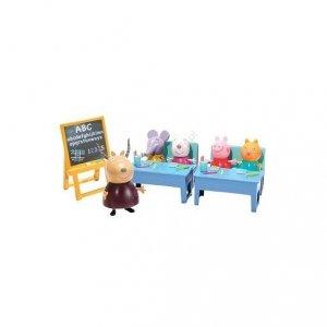 Świnka Peppa Klasa Peppy z Przyjaciółmi + gratis