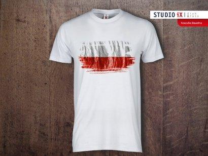 Koszulka biała Święto Niepodległości - Studioix.pl
