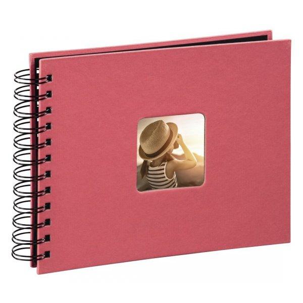 Album fine art 24x17/50 CZARNE STRONY flamingo