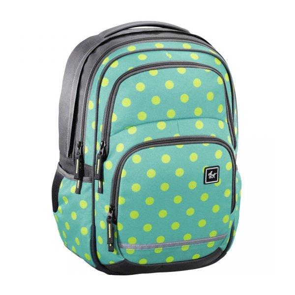 Plecak-szkolny-Blaby-Mint-Dots-All-Out-Hama