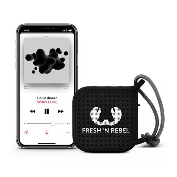 Głośnik-Bluetooth-Rockbox-Pebble-czarny-Fresh'n-Rebel