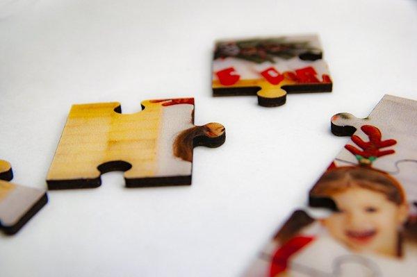Puzzle drewniane 29,7x42 cm 120 elementów z Twoim nadrukiem