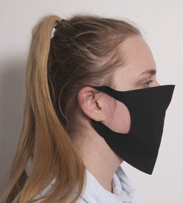 Maseczka na twarz czarna - streetwear
