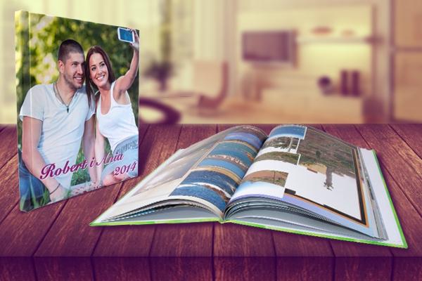 foto książka a4 poziomA 28 stron
