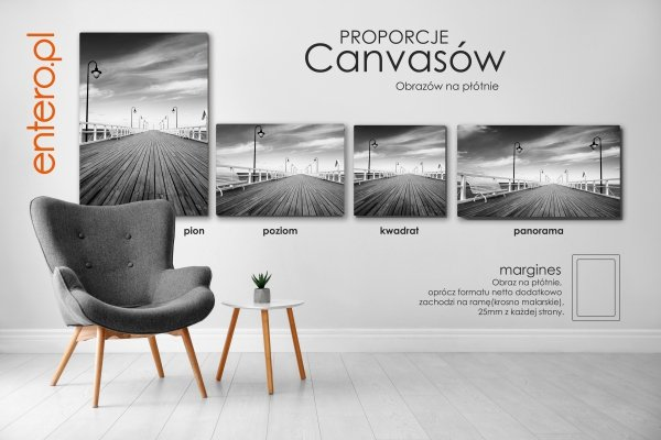Fotoobraz panoramiczny z Twoim zdjęciem, różne formaty - Studioix.pl