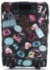 Palubní kufřík značky Or&Mi Butterflies&Stamps multicolor černá