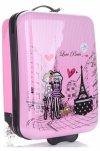 Oryginalna Walizka Kabinówka Dla Dzieci Paris Firmy Madisson Multikolor - Różowa