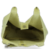 Uniwersalna Torebka Skórzana XL Shopper Bag w motyw zwierzęcy firmy Vittoria Gotti Limonka
