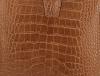 Eleganckie Torebki Skórzane Listonoszki firmy Vittoria Gotti w motyw Aligatora Ruda